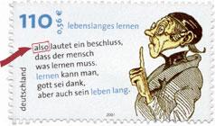 also Briefmarke